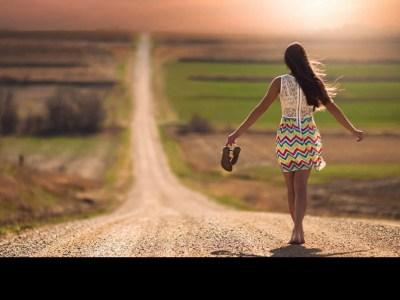 Lonely Faith Walking