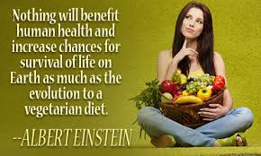 Albert Einstein Quote about Vegetarianism