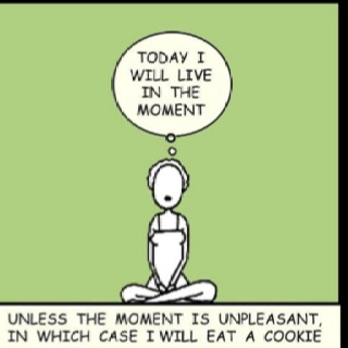 Live in the moment image
