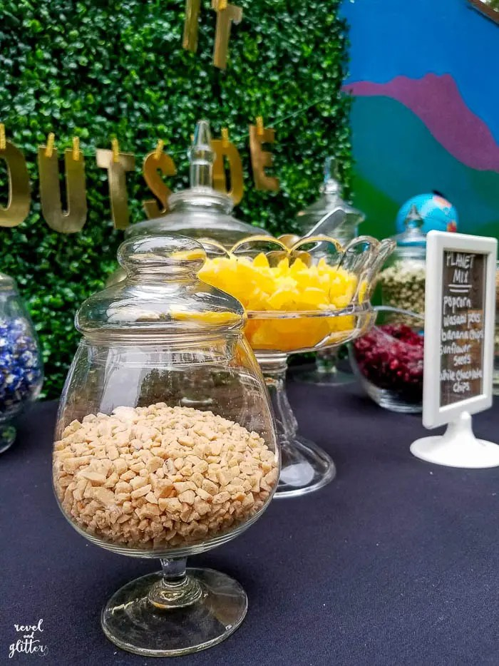 Take It Outside With a Trail Mix Bar For Earth Day