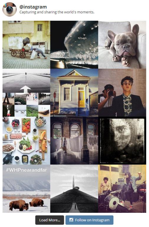 Displaying Instagram Photos On WordPress Site 6