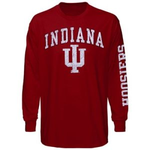 big and tall indian hoosiers, indiana hoosiers plus size apparel