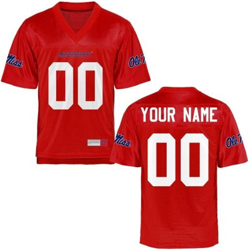 ole miss rebels jersey, ole miss custom jersey, ole miss rebels big and tall jersey, ole miss 2x 3x 4x 5x jersey