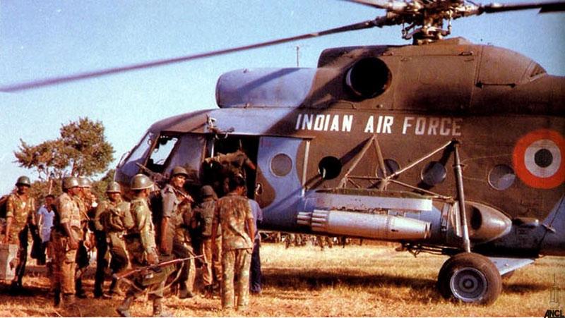 Image result for LTTE and IPKF in modern Sri Lanka