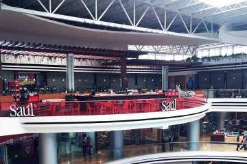 Así lucía el C.C. Oakland Mall hoy Jueves 27 de Agosto al medio día. / Fotografia: ActitudNews