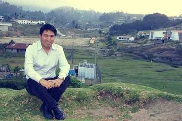 Marcos Andres en su natal Huehuetenango. / Foto: Cortesía-Marcos Andres