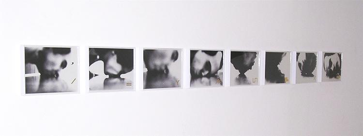 """""""Kiss n' hiss"""", obra de Dias com fotos de Iole de Freitas"""