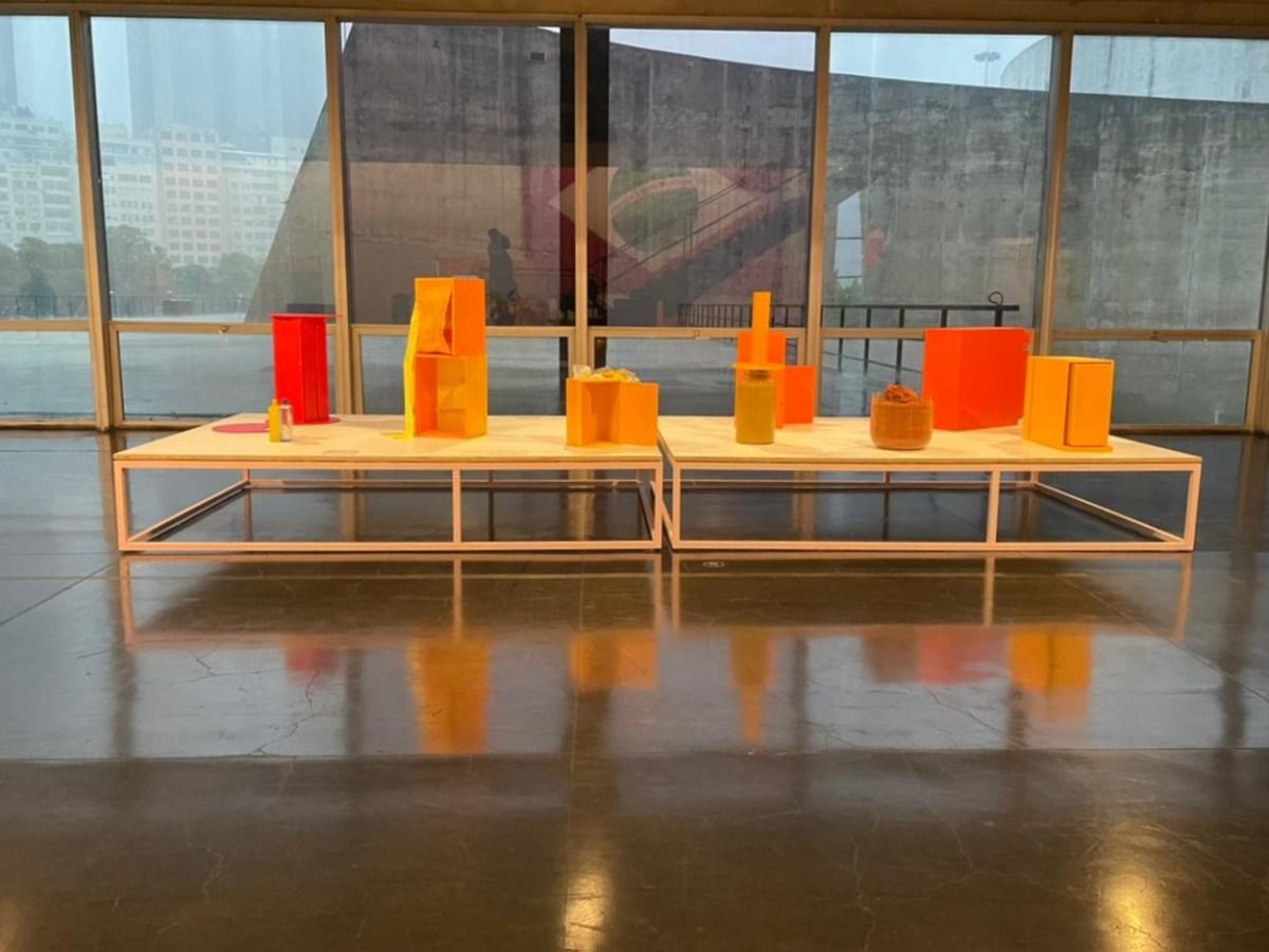 """Os trabalhos em pequena escala e feitos sobre papel, caso dos """"Metaesquemas"""" são os destaques da mostra, e foram muito beneficiados pela iluminação acertada Danielle Cukierman/Arquivo pessoal"""