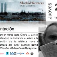 Presentación de la novela Madrid:frontera de David Llorente.