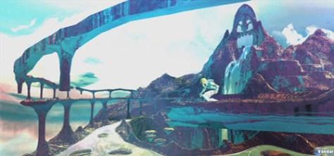 Figura 2. Las zonas próximas al Cielo son representadas con tonos fríos y azules