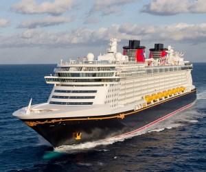 El Disney Dream zarpa de Puerto Cañaveral en la Florida y durante cuatro días navega por las Bahamas