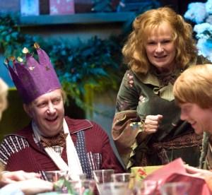 Arthur Weasley após recuperação na Ala Perigosa Dai Llewellyn