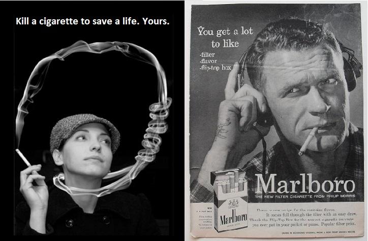 campanhas pro e anti tabaco