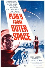 plan 9 from outter space poster