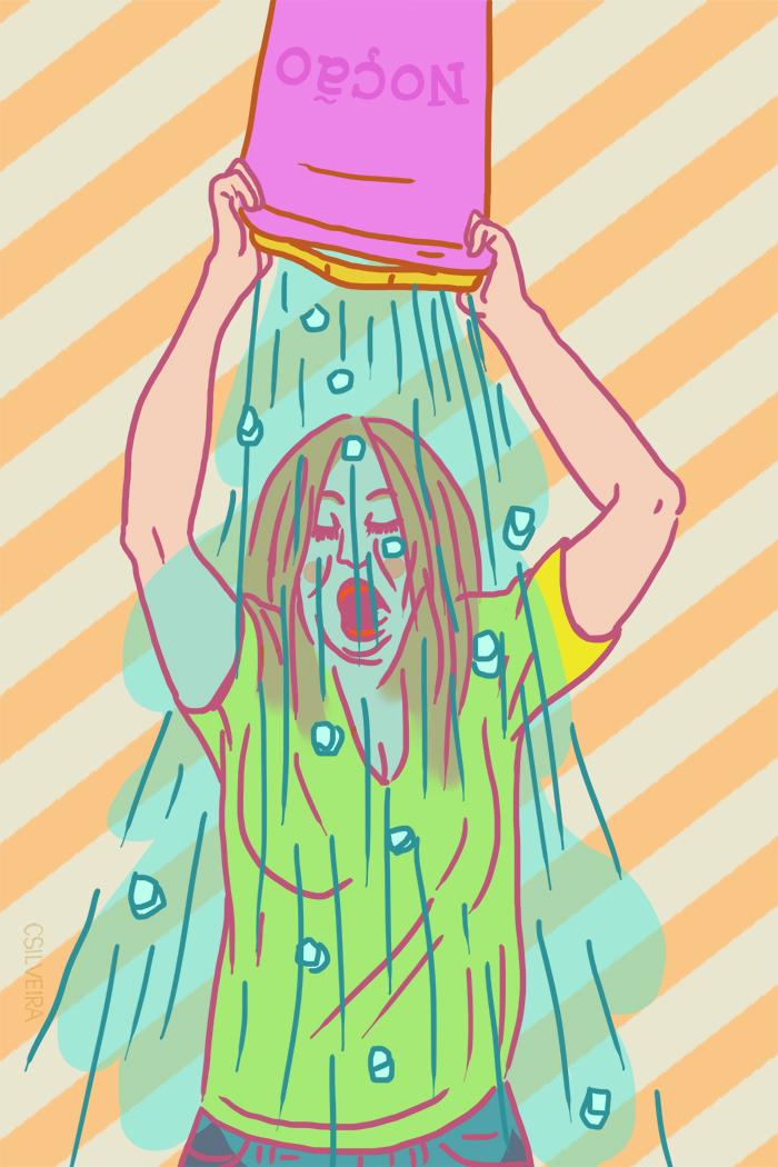 ice bucket challenge neusa sueli  cecilia silveira