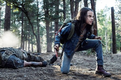 LOGAN, Dafne Keen, 2017. ph: Ben Rothstein/TM & copyright © 20th Century Fox Film Corp. All rights reserved./courtesy Everett Collection