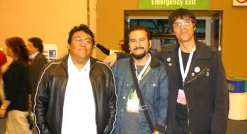 Felipe Ponce, Fernando León y Martín Mora
