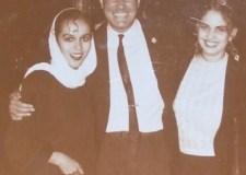Rita Guerrero y Adriana Díaz Enciso con Rogelio Villarreal en El Nueve