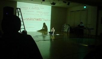 Wilton Azevedo —Po e-Machine—, Open Theater Chicago, 2007.