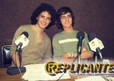 Joaquín y Godo hace cinco años en los micrófonos de Radio Universidad en Yucatán