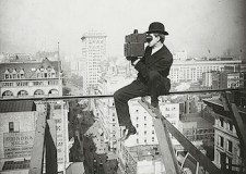 Filming over Fifth Avenue looking North, 1905