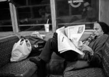 Man-Reading-Newspaper-Bakerloo-Line-Train