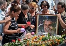 El entierro de Oswaldo Payá