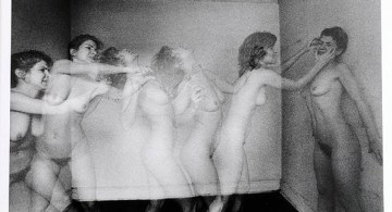 "Duane Michals, ""Violent Women""."