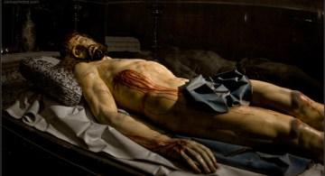 Cristo yaciente, de Gregorio Fernández.