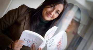 La científica y escritora Sonia Fernández-Vidal.