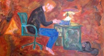 Pintura de Jorge Sarquis.