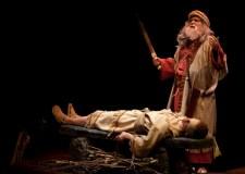 Abraham e Isaac. Representación de Gary Benson.