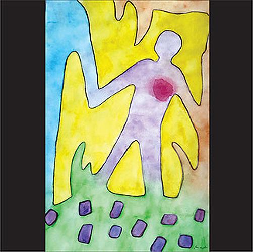 """Título; """"Juego de sombras"""" Autor: Laura Gamboa Cavazos Técnica: dibujo a acuarela País: México"""