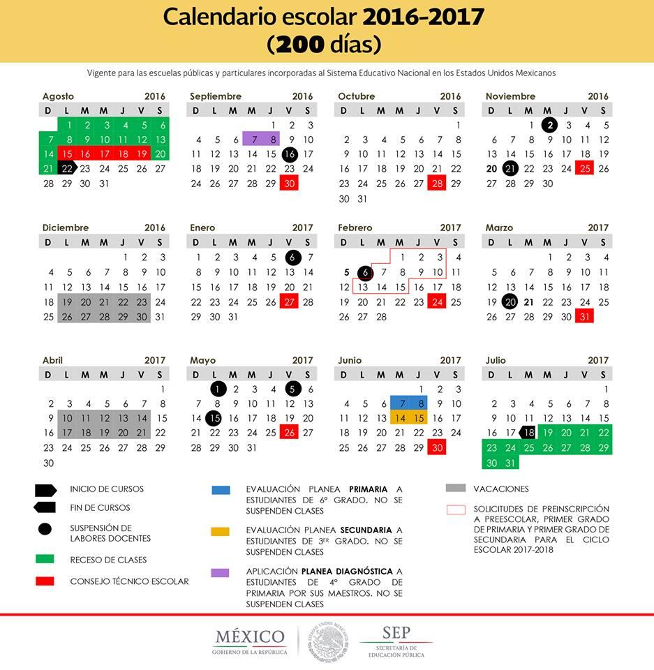 Se publicaron en el Diario Oficial de la Federación los calendarios ...