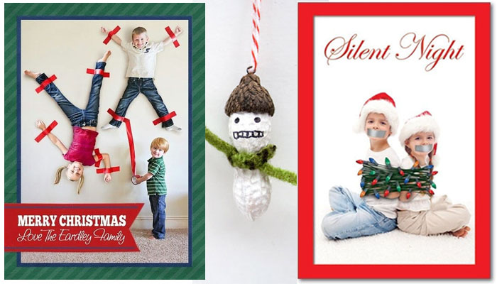18 felicitaciones de navidad creativas y divertidas - Felicitaciones de navidad originales para ninos ...