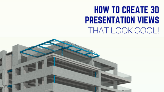 revit 3d presentation views