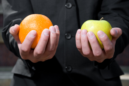 iStock_comparing apples and oranges