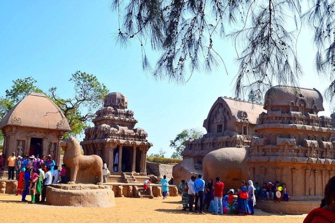 Pancha Rathas : Things to do in Mahabalipuram