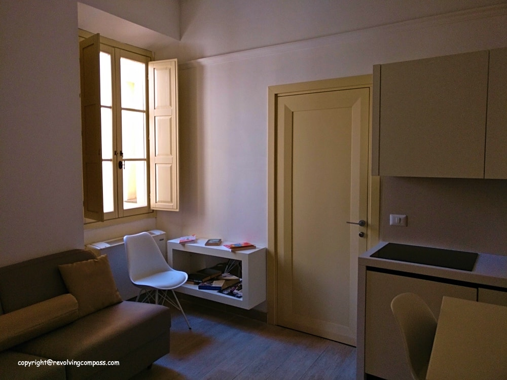 Our apartment stay at Florence –  Palazzo Dei Ciompi Florence