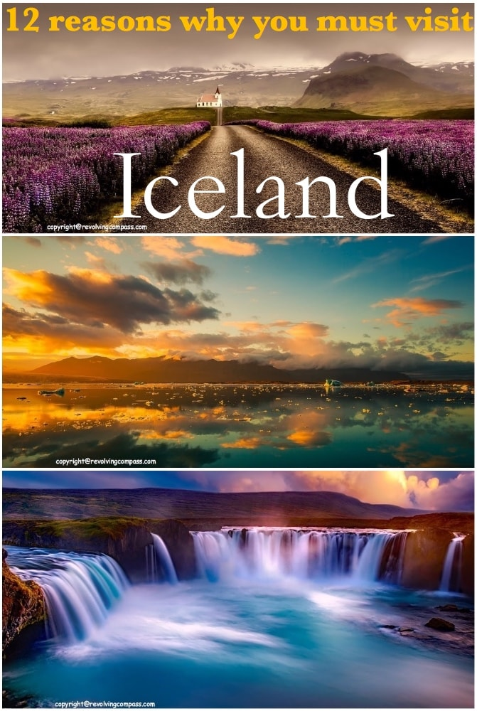 12 reasons why you should visit Iceland | Northern Lights in Iceland | Geysers and hot springs of Iceland | Blue Lagoon Iceland