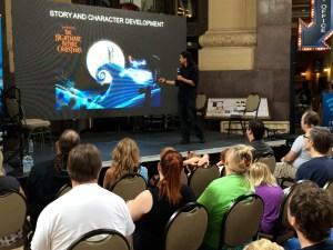 Kansas City Maker Faire presentation by special effects expert Fon Davis