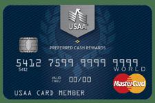 USAA Cashback MasterCard