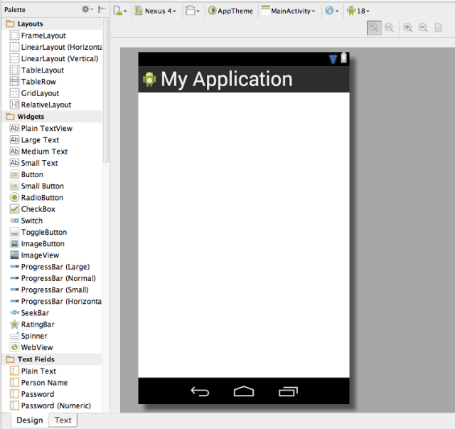 Android Studio Layouts and Fragments