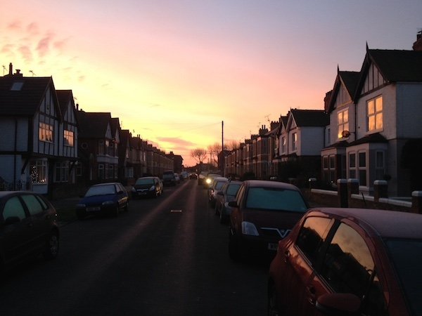 A Hull Sunrise Wakes Up A Frosty Morning