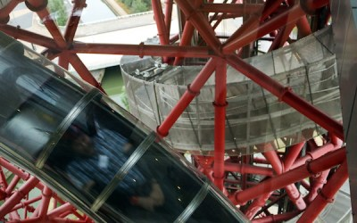 Riding the tallest slide in the the world – ArcelorMittal Orbit
