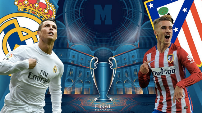 Apuestas Final Champions League: Real Madrid vs. Atletico Madrid