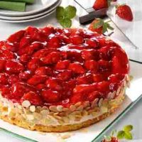 Erdbeer-Quark-Torte für Diabetiker