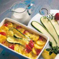 Kartoffelgerichte: Kartoffel-Zucchini-Auflauf