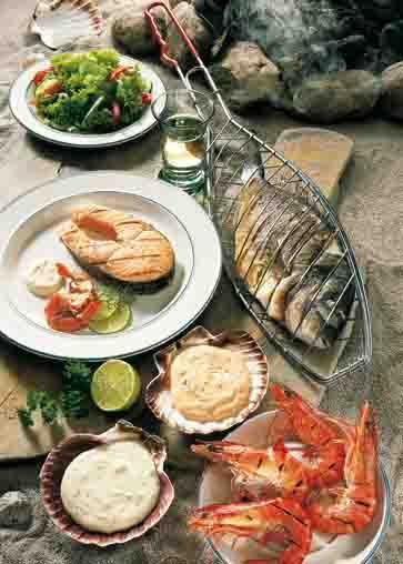 Leichte Fischgerichte vom Grill