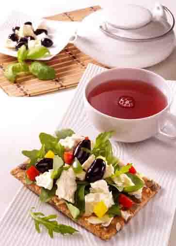 Schlanke Linie: Mediterraner Snack Foto: www.1000rezepte.de